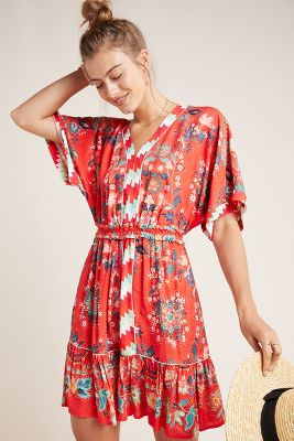 Farm Rio For Anthropologie Jane Mini Dress by Farm Rio