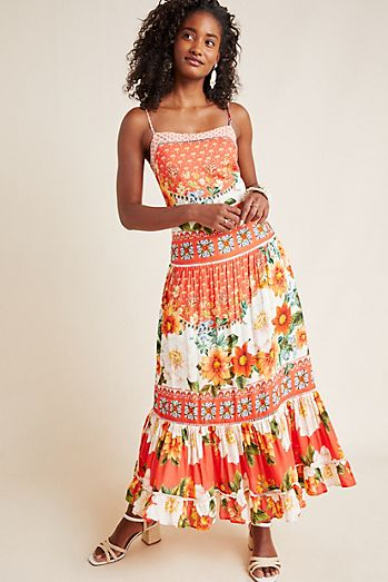 d4774361fc5 Farm Rio Lorraine Maxi Dress