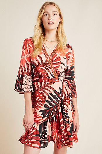 e9780437be Farm Rio For Anthropologie Bruxelles Mini Dress