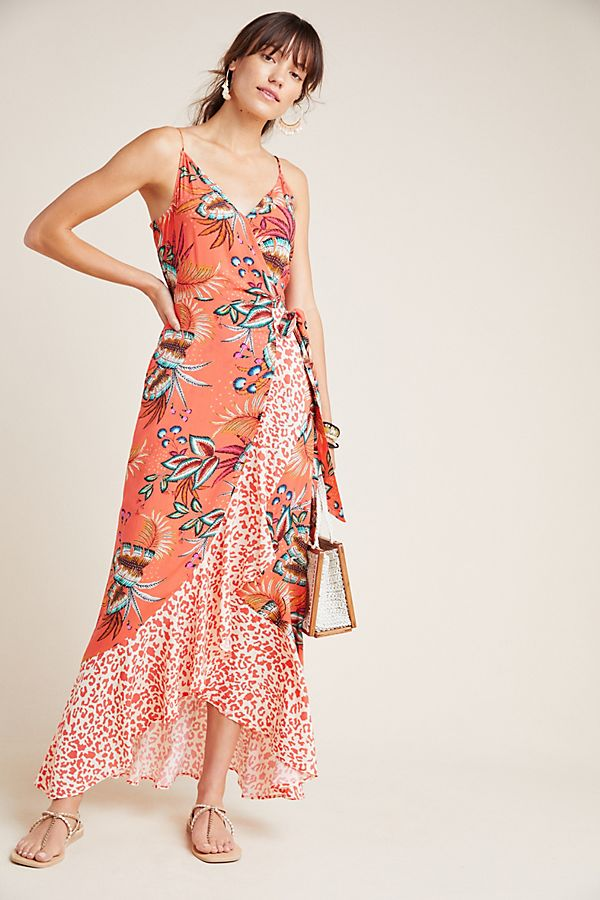 Slide View: 1: Farm Rio for Anthropologie Musette Maxi Dress