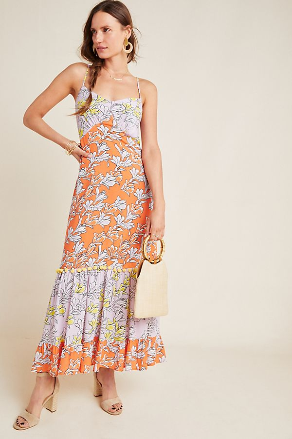 Slide View: 1: Farm Rio Culebra Maxi Dress