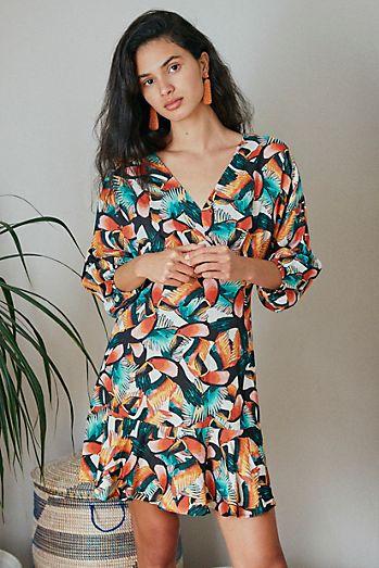 Farm Rio Tucanes Mini Dress