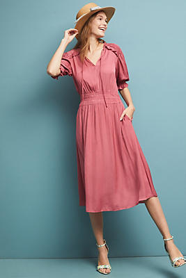 Cape May Midi Dress by Anthropologie