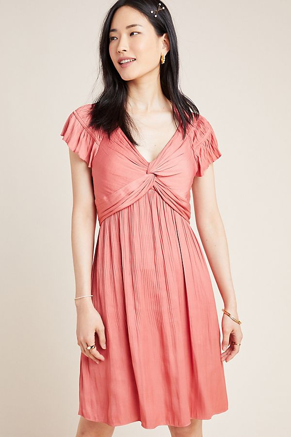 Slide View: 1: Sherri Twisted Mini Dress