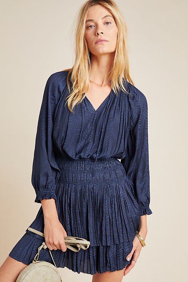 Slide View: 1: Moliere Tiered Tunic