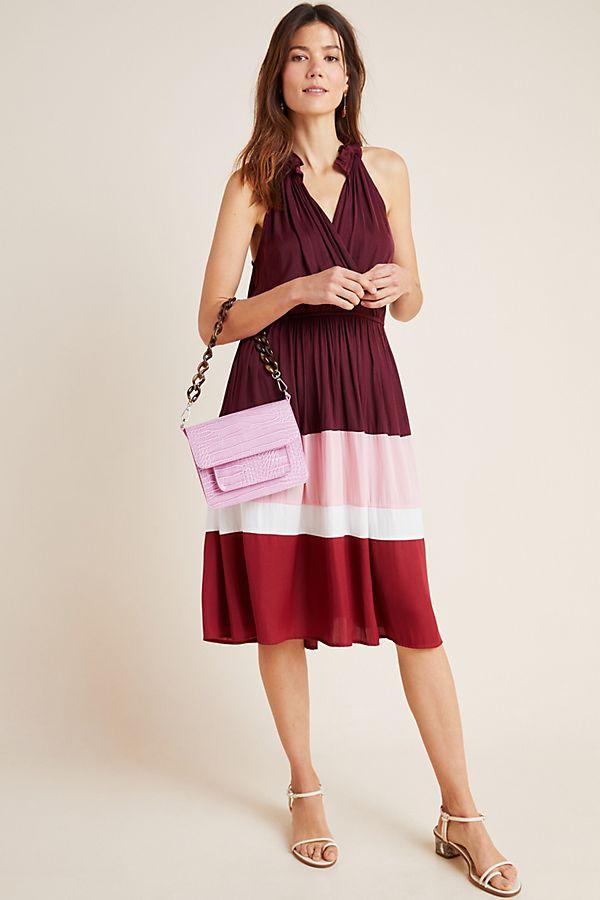 Slide View: 1: Cobie Colorblocked Midi Dress