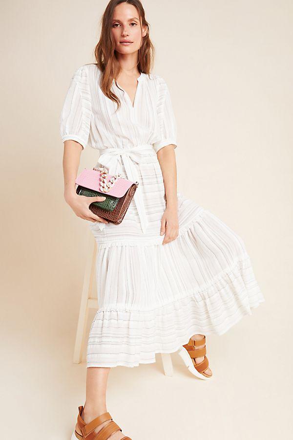 Slide View: 1: Shelley Textured Maxi Dress