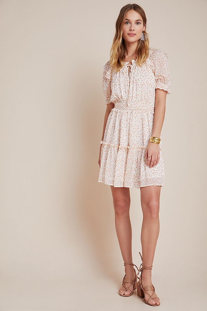 Tiered Mini Dress -