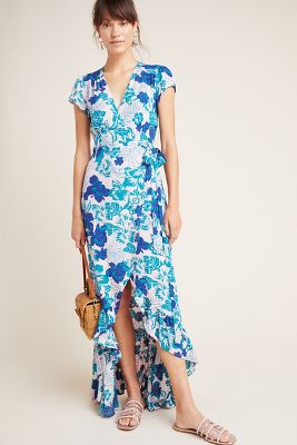 Tonga Wrap Maxi Dress by Xix Palms