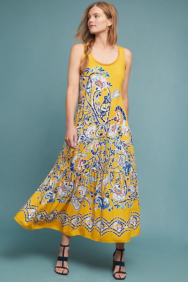 171230f67834 Puebla Maxi Dress   Anthropologie