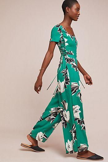 ab902e6f15bd Shelby Floral-Print Jumpsuit