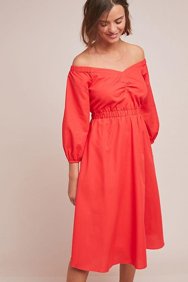 3dddf54c9d4d Slide View  1  Klara Off-The-Shoulder Dress