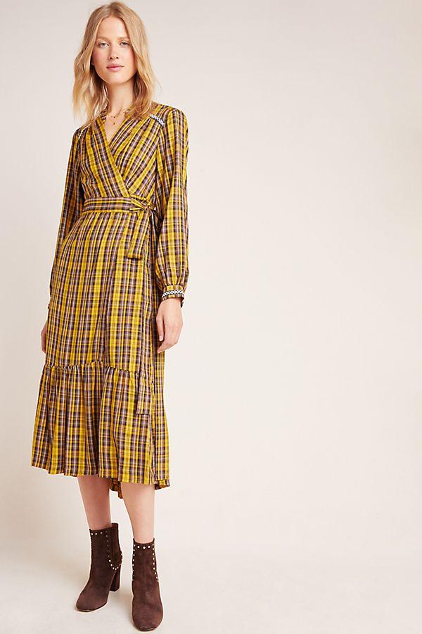Slide View: 1: Dalton Wrap Maxi Dress