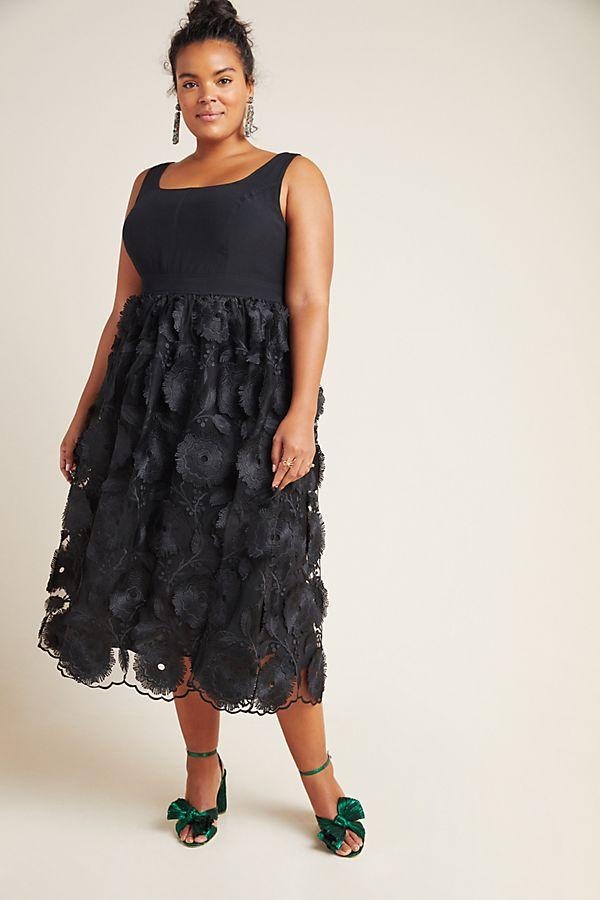 Floriana Lace Midi Dress