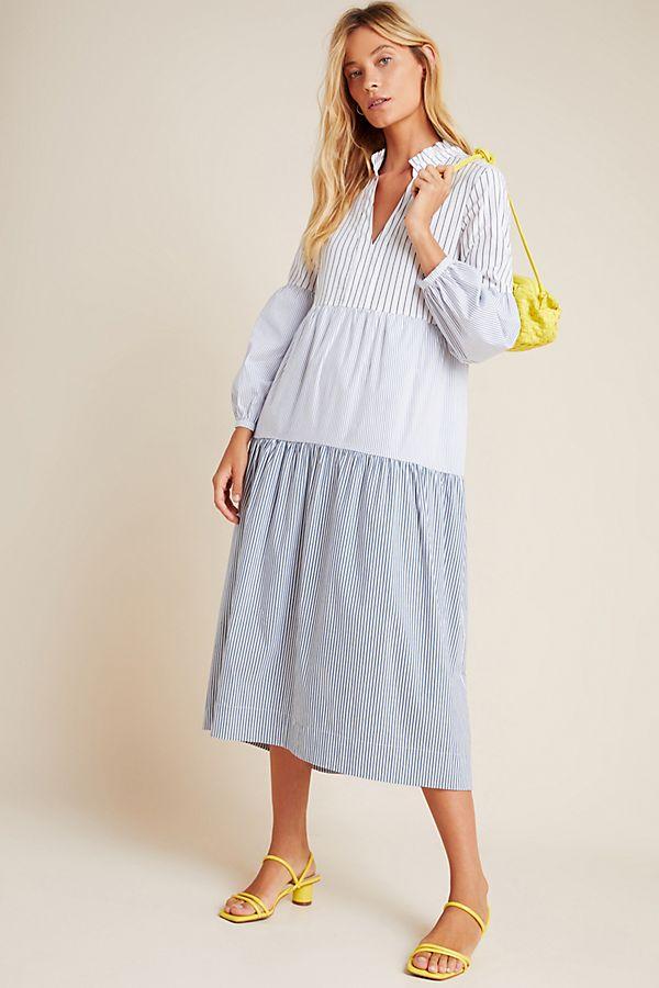 Slide View: 1: Bonnie Tiered Midi Dress