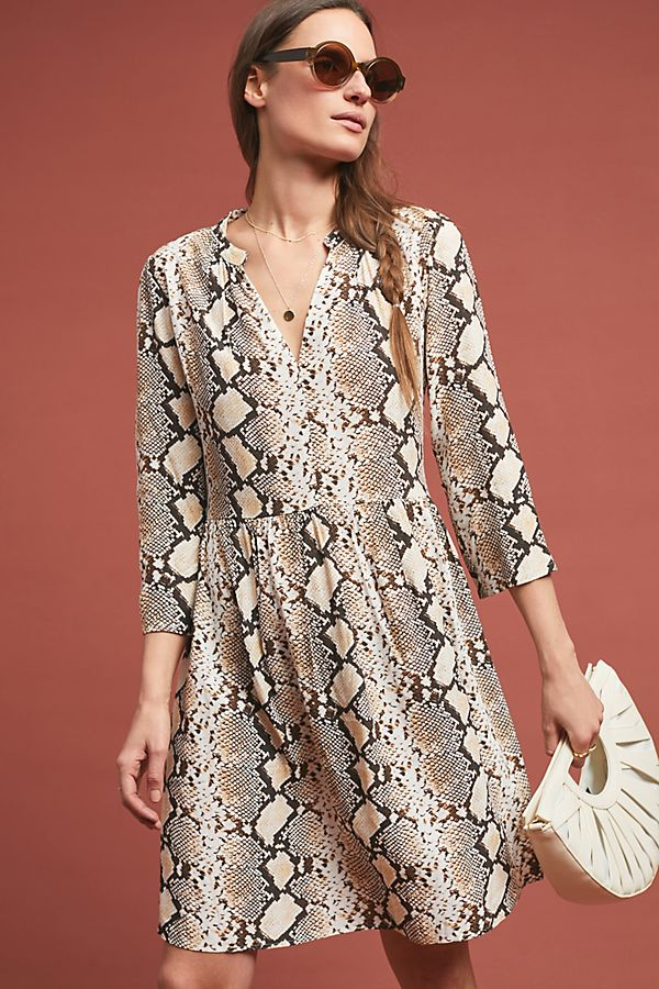 Slide View: 1: Juno Printed Dress