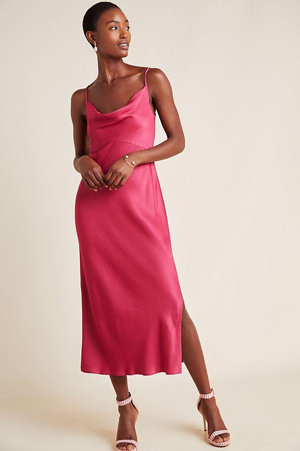 Slide View: 1: Bias Slip Dress