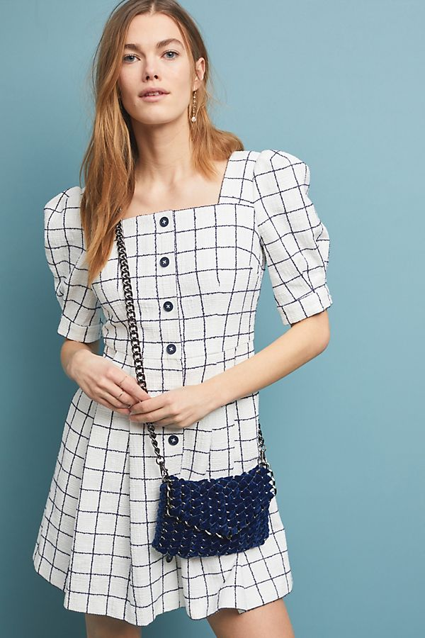 5d2cf9452c4 Slide View  1  Dawn Windowpane Shirtdress