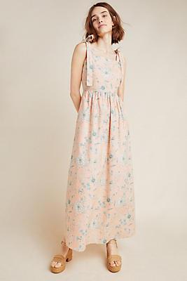 Slide View: 1: Makenna Floral Maxi Dress
