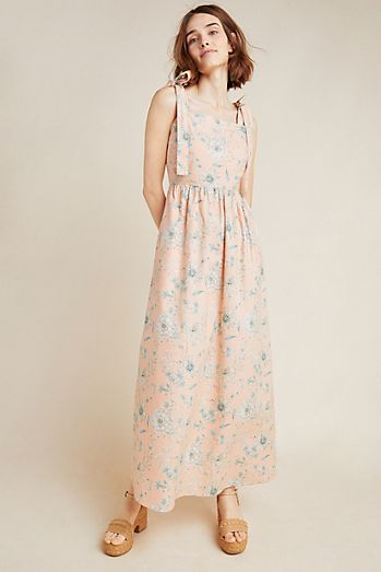 0f5dd39ef02c Makenna Floral Maxi Dress