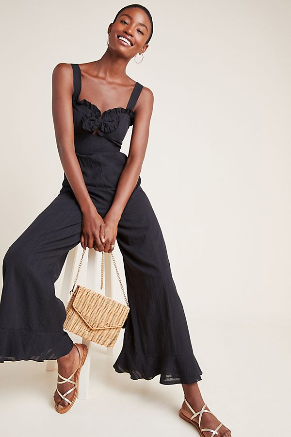 Slide View: 1: Jules Wide-Leg Jumpsuit