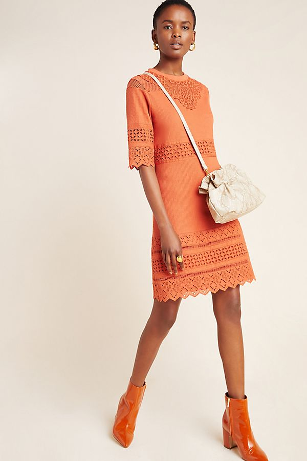 Slide View: 1: Cannelle Eyelet Tunic