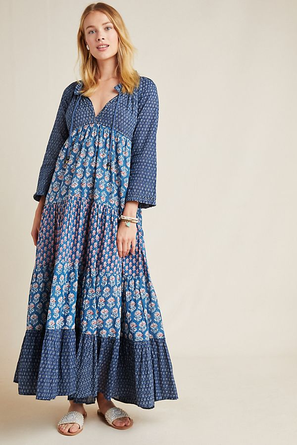 7a8432e93 Sonia Floral Maxi Dress | Anthropologie