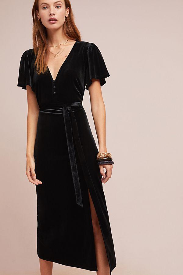 ebe9ff3922ac Royal Velvet Dress   Anthropologie