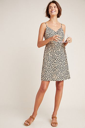 ba27501f81 Sanctuary Leopard Wrap Dress