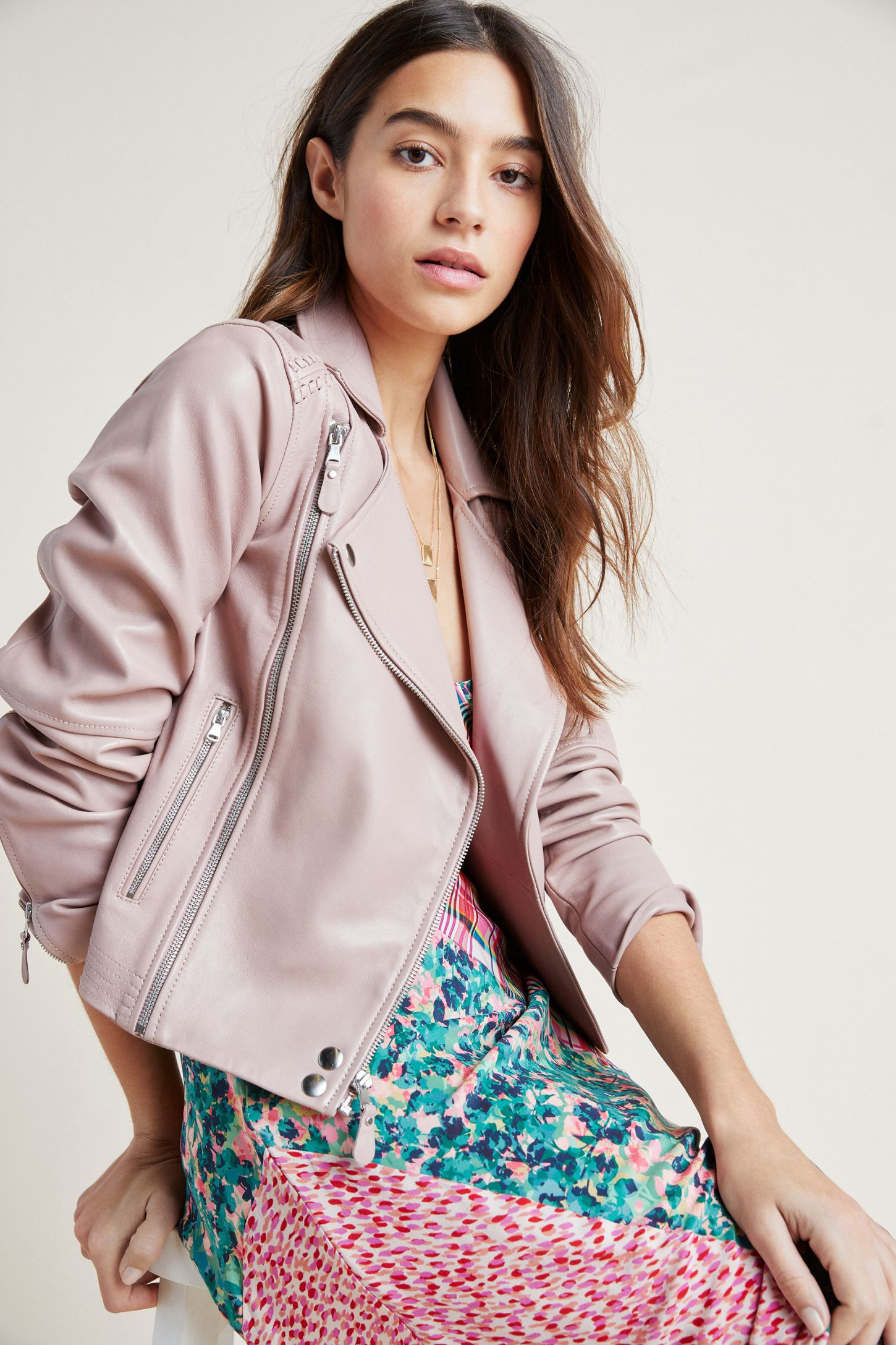 085d5c346b58 Paige Fontana Leather Jacket | Anthropologie