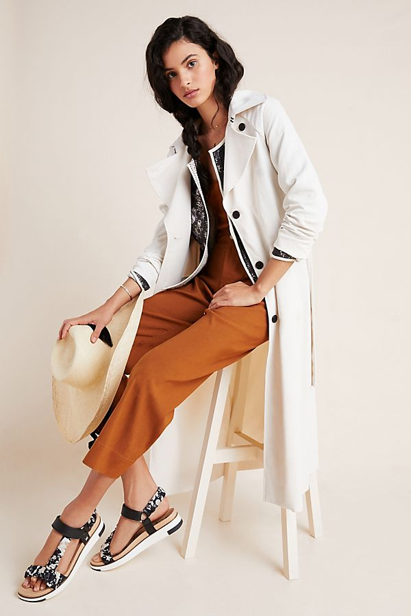 Slide View: 1: Collins Trench Coat