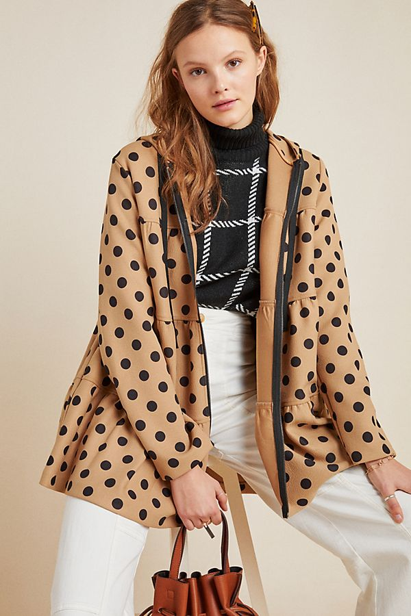 Slide View: 1: Maybelle Tiered Coat