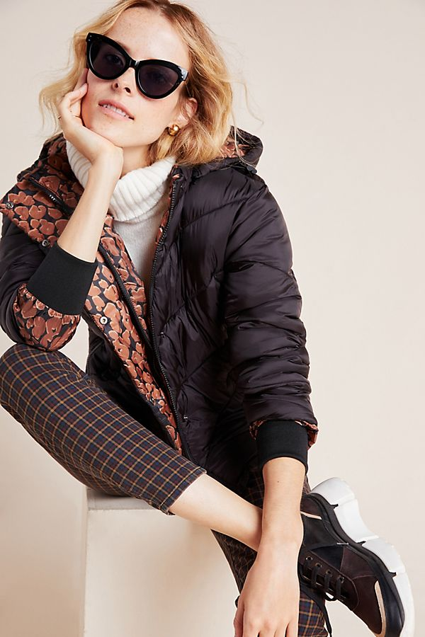 Slide View: 1: Scotch & Soda Quilted Puffer Jacket