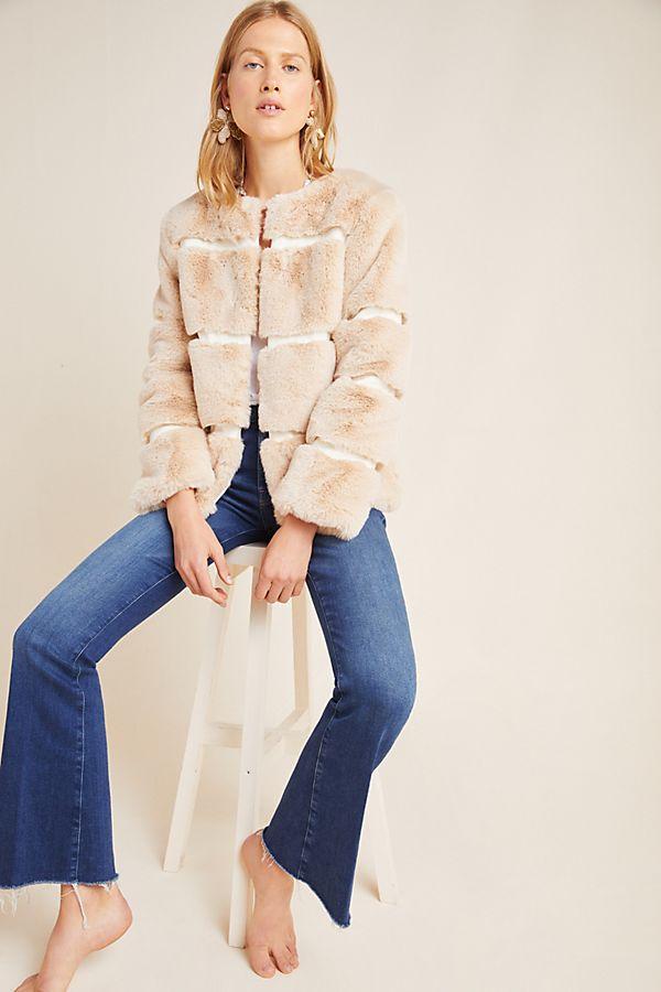Slide View: 2: Arielle Faux Fur Jacket