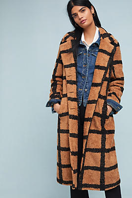 Berber Checked Coat by Nvlt
