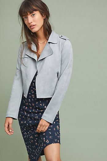 8447c67ed0 Leather & Suede Jackets for Women | Anthropologie