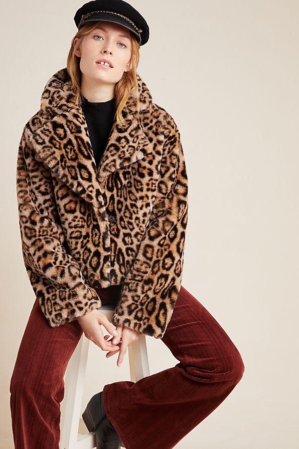 Slide View: 1: Felina Faux Fur Jacket