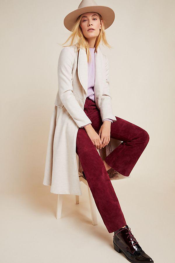 Slide View: 1: Evaline Textured Coat