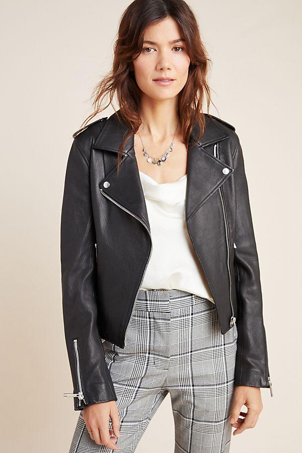 Kas Leather Moto Jacket