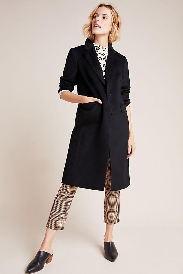 Slide View: 1: Addison Wool Coat