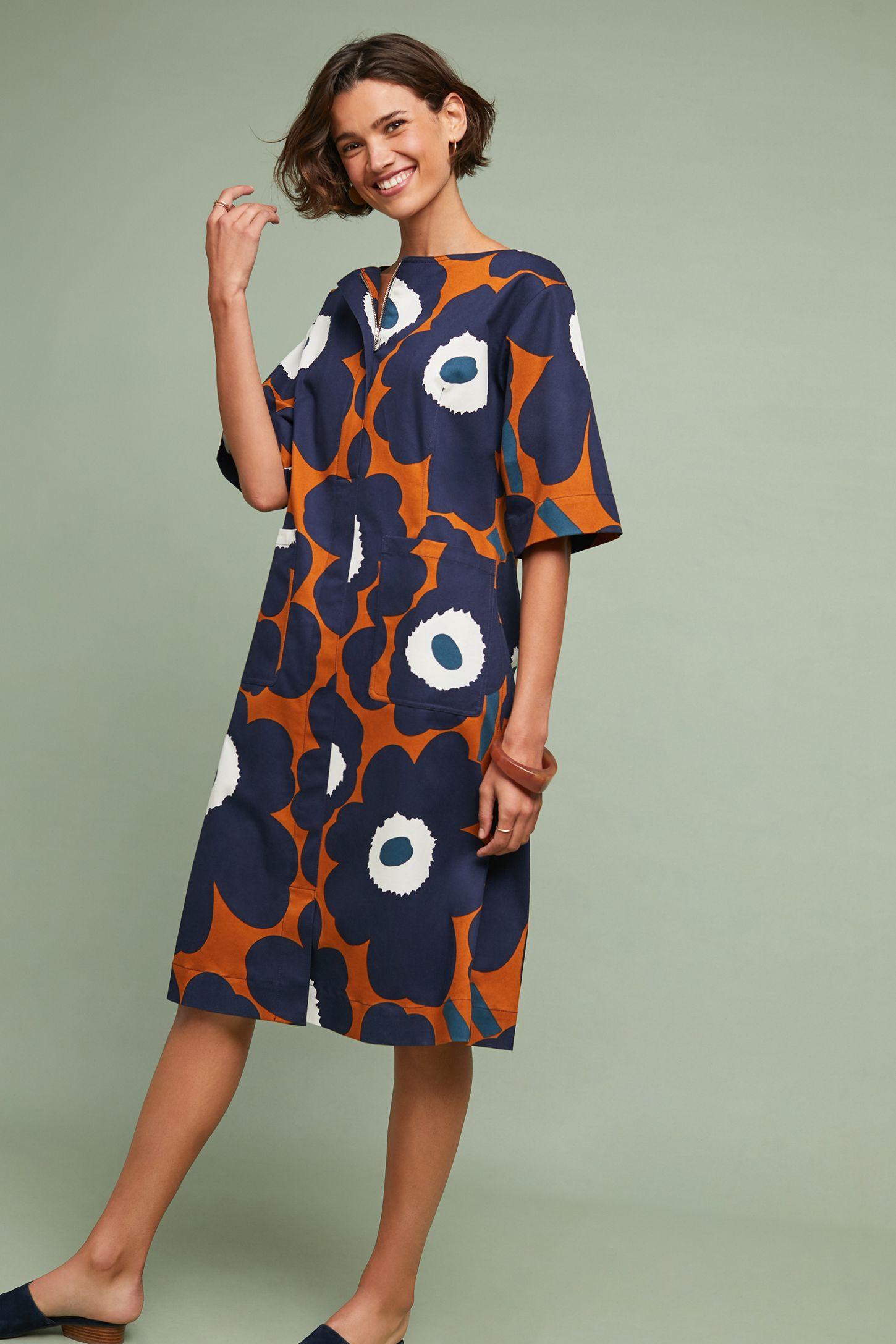 21cdf37e0ed Marimekko Tahtimo Floral Dress