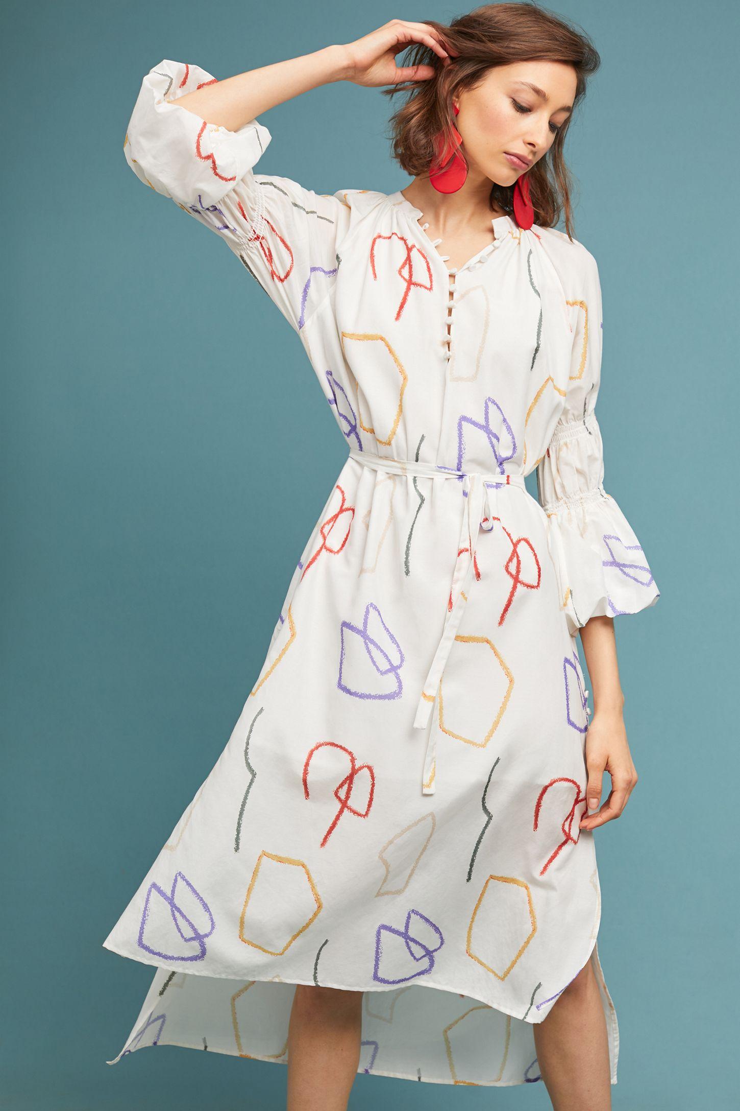 299652a0472 Graphic Art Dress