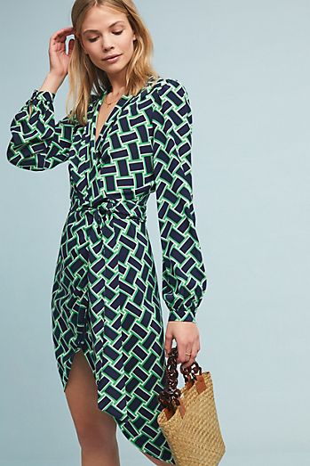 acad0b3747 Diane von Furstenberg Carla Wrap Dress