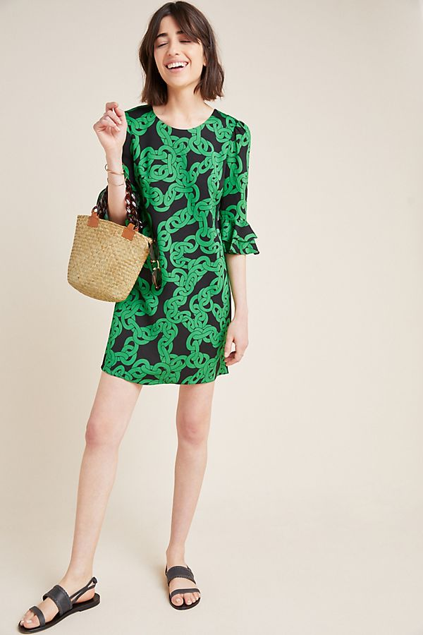 Slide View: 1: Diane von Furstenberg Kouise Mini Dress