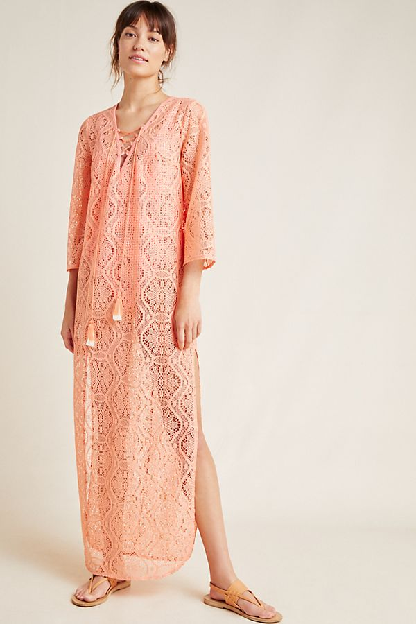 Slide View: 1: Riley Lace Caftan
