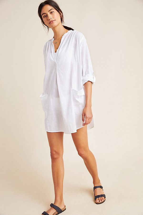 Slide View: 1: Seafolly Boyfriend Cover-Up Top