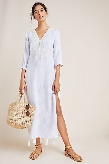 68c27dd5200f Beach & Swimsuit Cover-Ups | Kaftans | Anthropologie