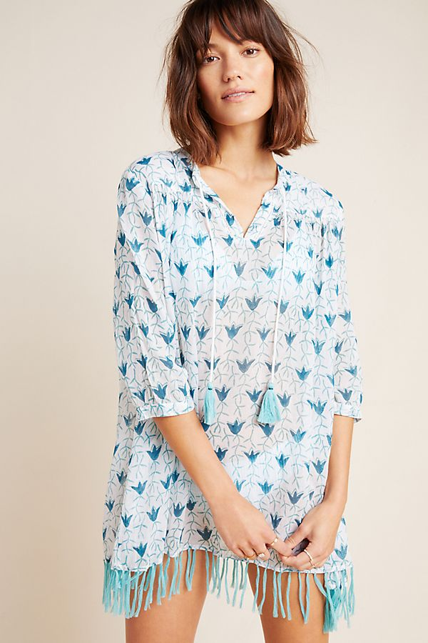 Slide View: 1: Roller Rabbit Serafina Cover-Up Tunic