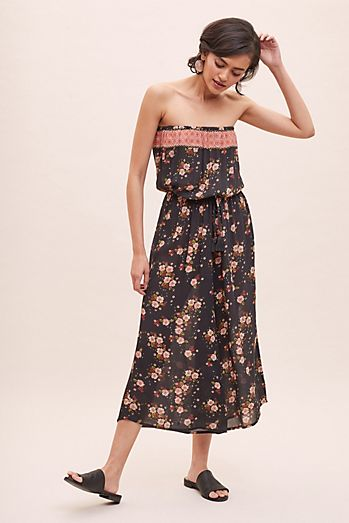 e1a5020abd4a Justina Printed-Strapless Jumpsuit