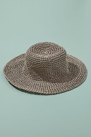 ca4b0add86a Packable Floppy Straw Hat